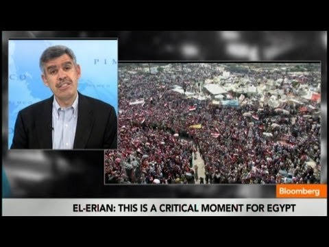 El-Erian to Egypt's Mursi: It's Time for You to Go