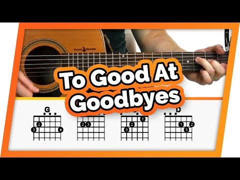 Too Good At Goodbyes Guitar Tutorial (Sam Smith) Easy Chords Guitar Lesson