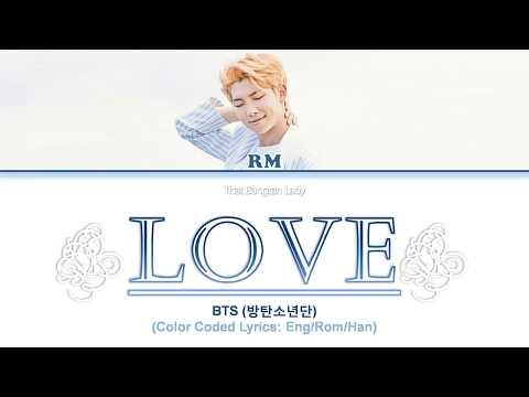 BTS (방탄소년단) RM – Trivia 承: 'LOVE' Color Coded Lyrics (Han/ Rom/ Eng) HD