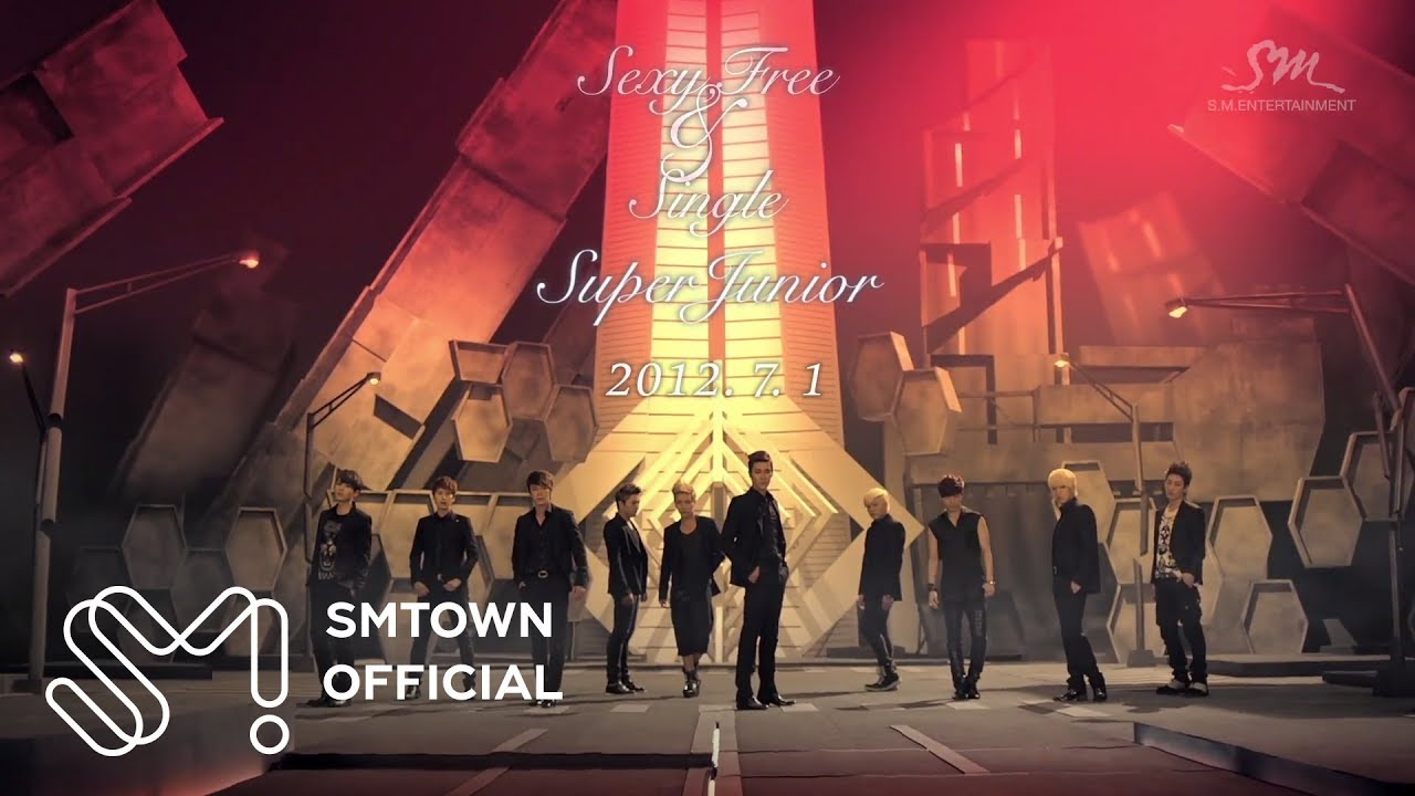 SUPER JUNIOR 슈퍼주니어 'Sexy, Free & Single' MV Teaser