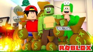 Roblox - PRISON ESCAPE & ROBBING THE NEW BANK!