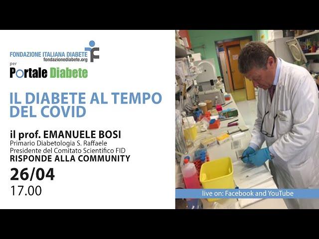 Il Diabete al Tempo del Covid19 | 24.06.2020