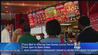 Taco Bell Is Giving Away Free Doritos Locos Tacos On June 13
