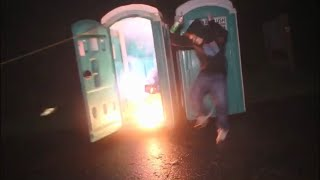 Fireworks in a Porta Potty Gone Wrong
