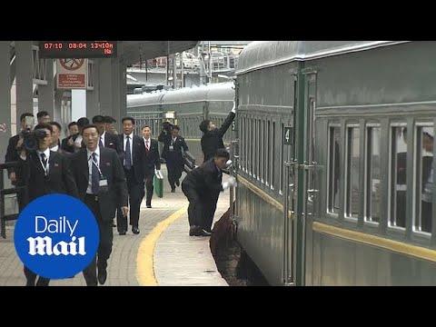 Kim Jong Un's Train Encounters Minor Hitch Arriving In Vladivostok