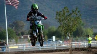 8yr OLD ON KX 65 DIRT BIKE WIDE OPEN!!!!  2012 Lake Elsinore Grand Prix (GoPro footage)