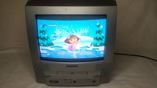 Sylvania 6513DF 13 Color CRT TV DVD Video Player Combo Television