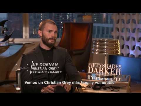 Jamie Dornan, Dakota Johnson, E.L. James - Entrevista para Studio Universal