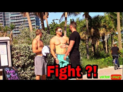 Do You Wanna Fight ?? New Prank From MIami !!