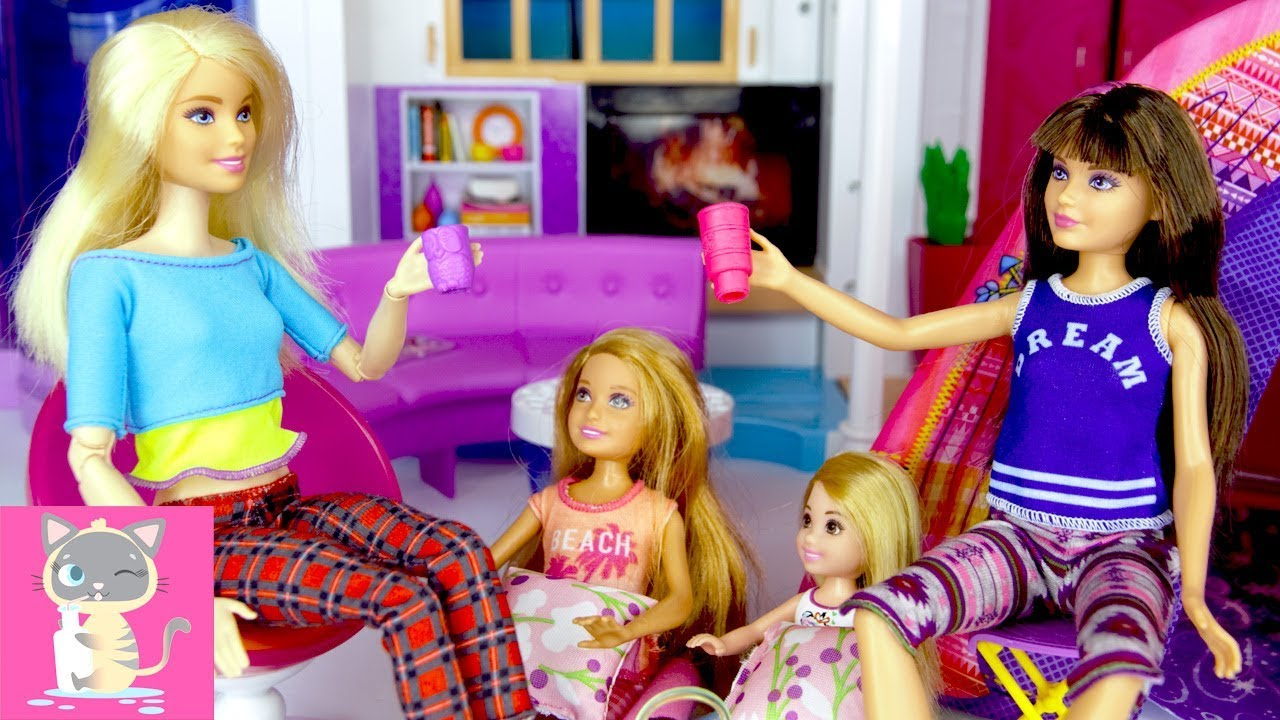 New Barbie Camping Fun Barbie and Chelsea Sisters 2-pack