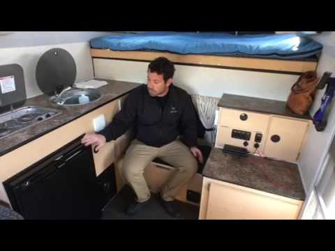 Four Wheel Camper >> Tour of the AT Overland/Four Wheel Camper Rental - YouTube