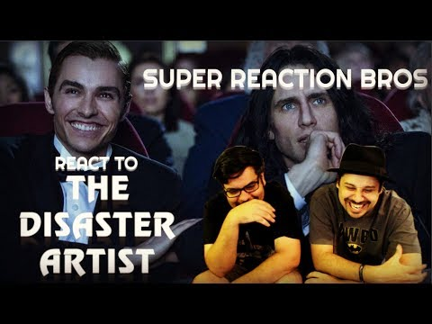 SUPER REACTION BROS REACT & REVIEW The Disaster Artist Official Trailer!!!!
