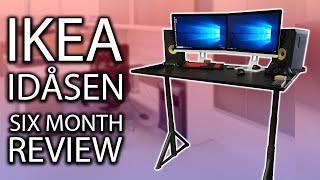 Ikea Idåsen 63 Sitstand Desk Setup Overview Videoruclip