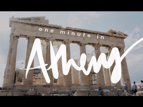 A Day of Athens Sights in One Minute!