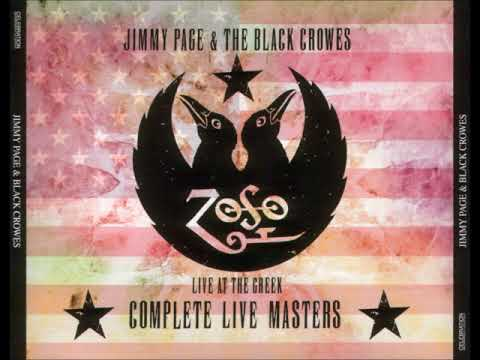 Jimmy Page and the Black Crowes 1999.10.19 Greek Theatre, Los Angeles SOUNDBOARD