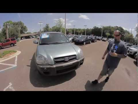Autoline's 2005 Hyundai Tucson GLS Walk Around Review Test Drive