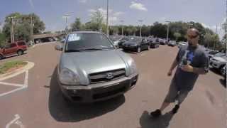 Autoline's 2005 Hyundai Tucson GLS Walk Around Review Test Drive