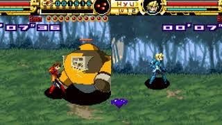 Advance Guardian Heroes GBA 2 player 60fps