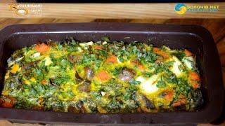 Суботня кухня: готуємо яєчно-печінкову запіканку