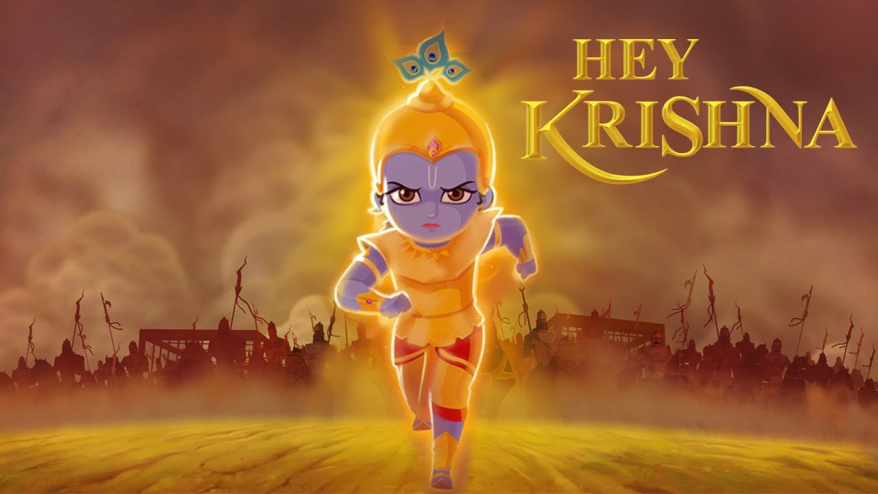 New 3d Animation Wallpaper Hey Krishna 3d Stereoscopic Film Youtube