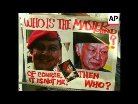 PHILIPPINES: MANILA: FILIPINO CHINESE PROTEST AT INDONESIAN EMBASSY