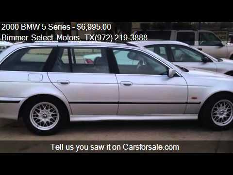 2000 bmw 5 series 528i wagon for sale in lewisville tx 7506 youtube. Black Bedroom Furniture Sets. Home Design Ideas