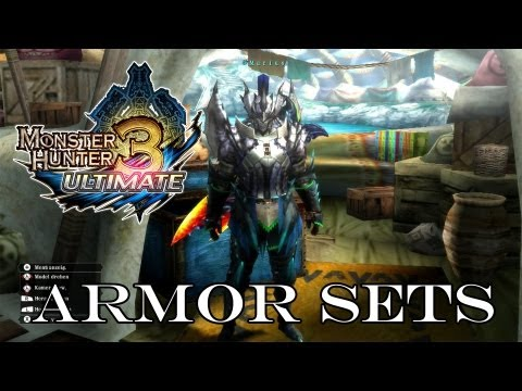 Monster Hunter Tri 3 Ultimate - Armor Sets By ...