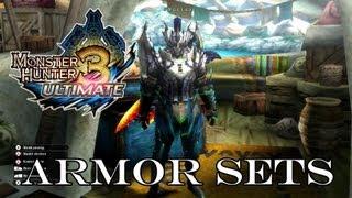 ☆ Monster Hunter Tri 3 Ultimate ☆ - Armor Sets by 1monsterschlachter [German/English]
