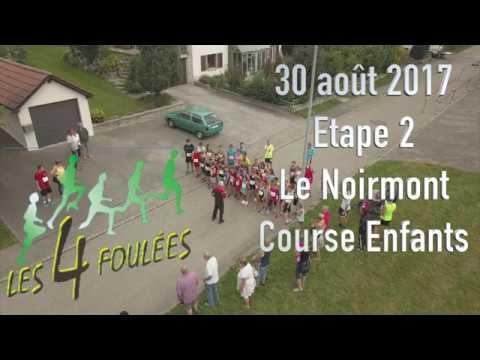 30.08.2017 Course enfants / Les 4 Foulées Le Noirmont