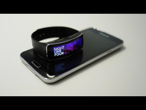 Samsung Gear Fit features overview