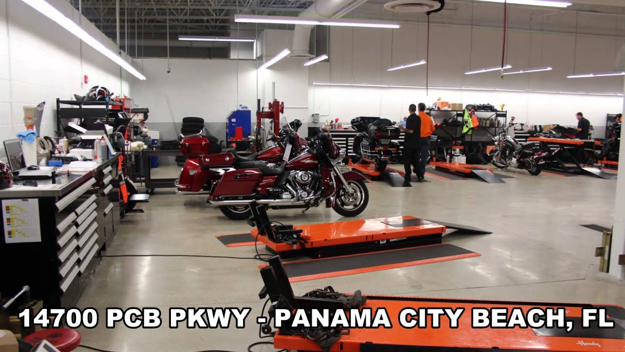 harley davidson motorcycle dealer - santa rosa beach, fl usa - youtube