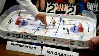 Table Hockey. Moscow Open 2013. Dmitrichenko-Miloradov. Game 4. Overtime
