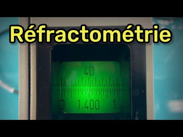 Analyser un liquide ? Réfractométrie !