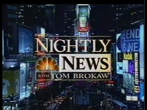 """NBC Nightly News"" Millennium Stories Dec. 26-30, 1999"