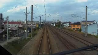 E3系R18編成 山形新幹線 とれいゆつばさ 新庄駅付近