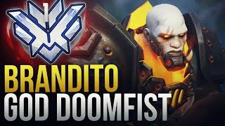 "Best of ""Brandito"" #1 NA DOOMIFST GOD - Overwatch Montage"