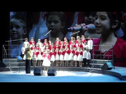 Restera' con te - Piccolo coro a Shanghai, Cina 2016