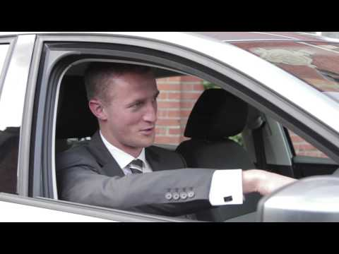The SEAT Toledo at Fulham FC with Brede Hangeland