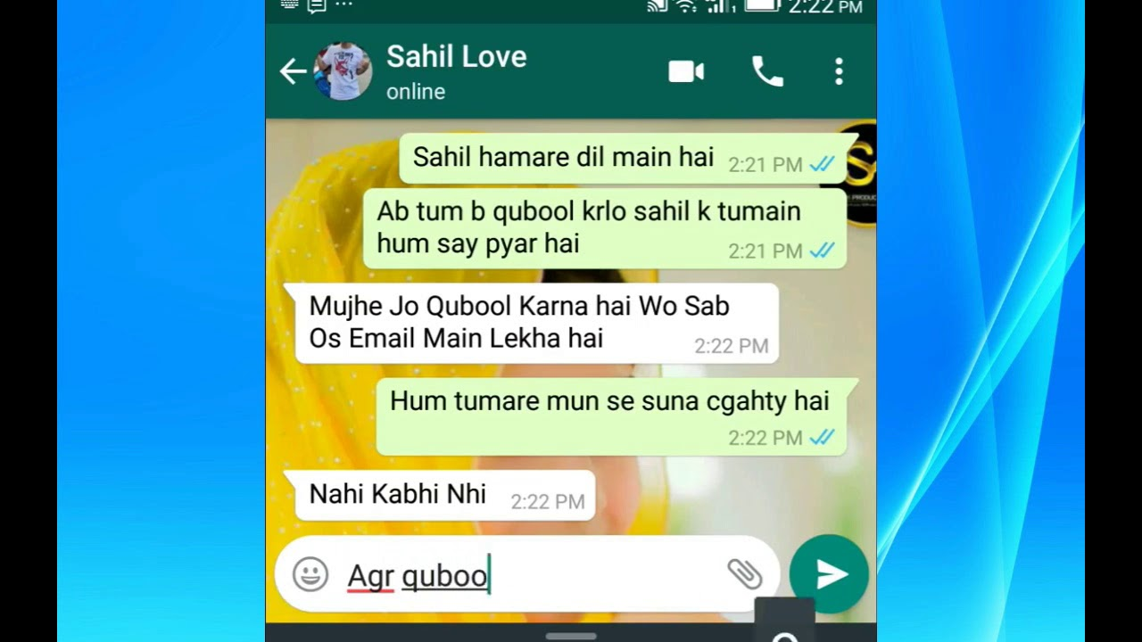 Breakup Sad Story Whatsapp Chat That Makes You Emotional 2017 Hindi
