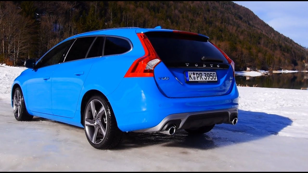 Volvo V60 Cross Country >> Volvo V60 R-Design review in snow with Volvo AWD and Drive ...