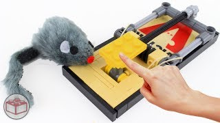 How To Build a LEGO Mouse Trap That WORKS!