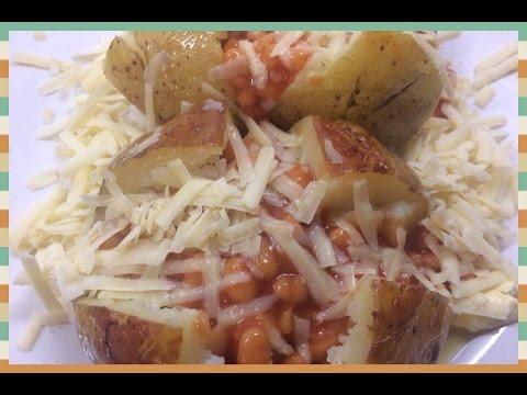 Meat Free Monday Jacket Potato Cheese An Beans Youtube