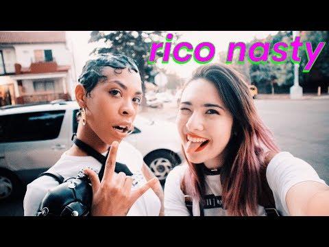 RICO NASTY Interview- anime, teenage pregnancy, boyfriend best friend