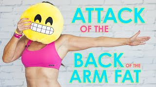 Attack of the Back of the Arm Fat | Natalie Jill