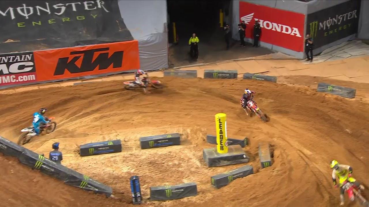 450SX Main Event highlights - Atlanta