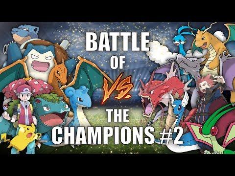 BATTLE OF THE CHAMPIONS #2 (RED vs LANCE) - Pokemon Battle Revolution