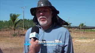 NA ROTA DO LEITE: Raimundo Reis relata sua satisfação pela presença do secretário Francisco Teixeira