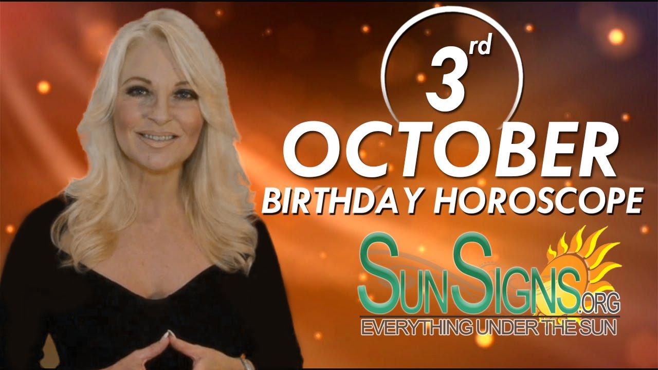 October 3 Zodiac Horoscope Birthday Personality | SunSigns Org
