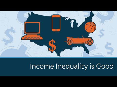 Income Inequality is Good