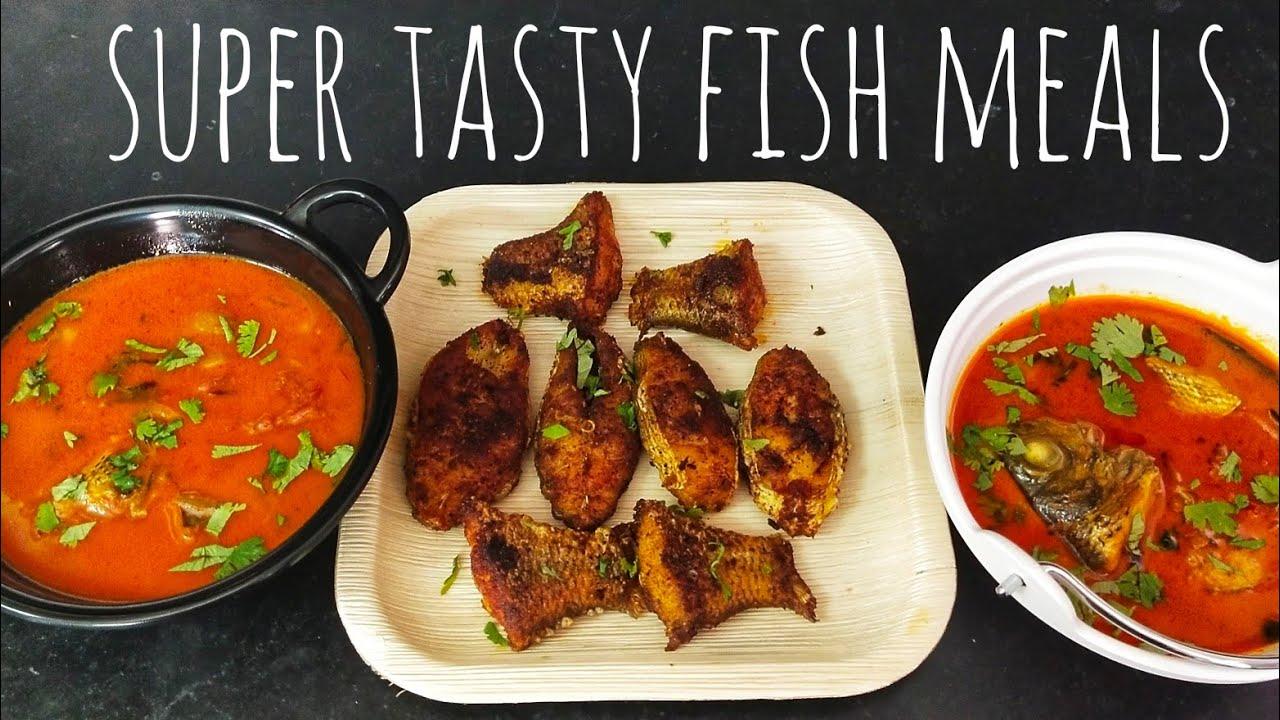 Fish curry in clay pot / masala fish curry / fish fry / மண் சட்டியில் மீன் குழம்பு வைப்பது எப்படி